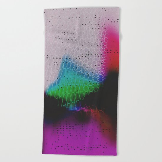 Heavy Glow Beach Towel