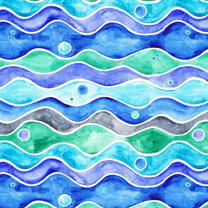 Ocean Pattern - Dolphin Leggings