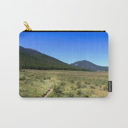 Watercolor Landscape, Lost Creek Wilderness 40, Colorado Carry-All Pouch