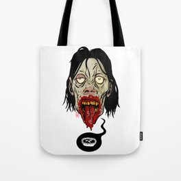 Deep Zombie Thoughts Tote Bag