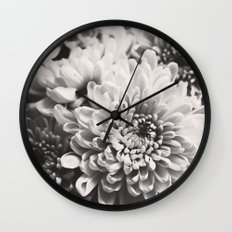 Soft flowers Wall Clock