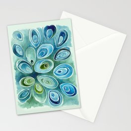 Blue Oyster Stationery Cards