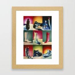 La Bota (The Boot) Framed Art Print