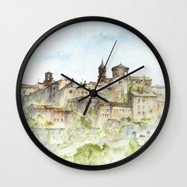 Lucignano, Italy Wall Clock