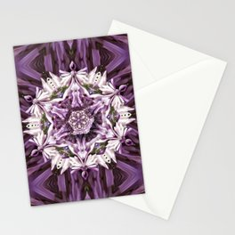 Lilacs in Gloom Stationery Cards