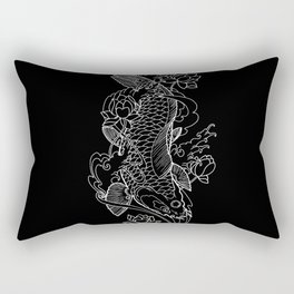 Koi Fish 1 Rectangular Pillow