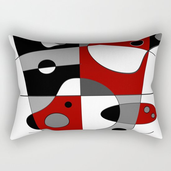 Abstract #36 Rectangular Pillow