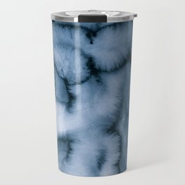 grey blues Travel Mug
