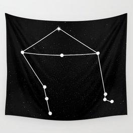 LIBRA (BLACK & WHITE) Wall Tapestry