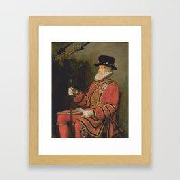 Sir John Everett Millais, Bt 1829–1896   The Yeoman of the Guard Framed Art Print