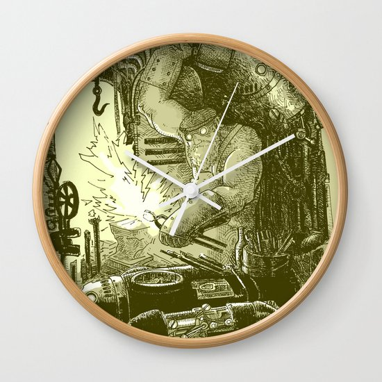 Doombots Wall Clock