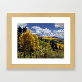 Autumn in New Mexico Framed Art Print