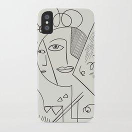 Cubist Perception  iPhone Case