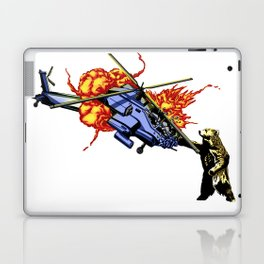 Bear vs. Apache Laptop & iPad Skin
