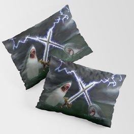 Shark vs. Narwhal  Pillow Sham