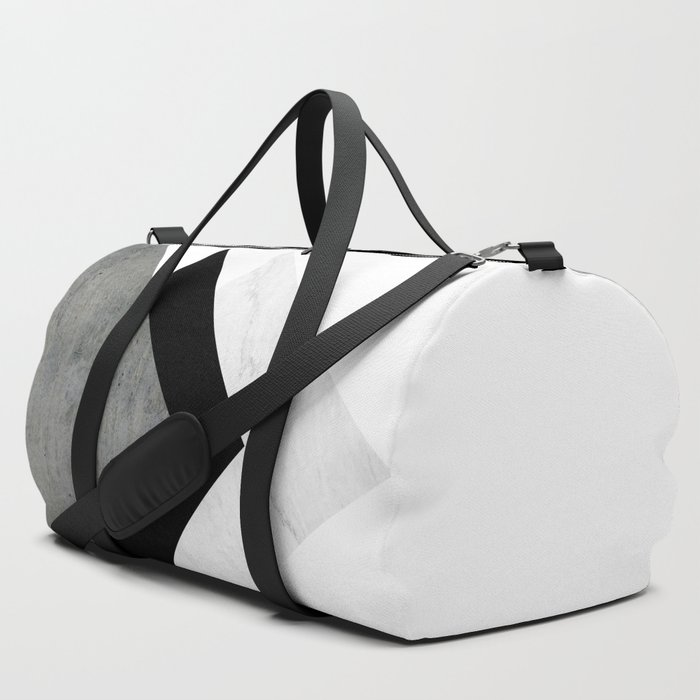 Arrows_Monochrome_Collage_Duffle_Bag_by_ARTbyJWP__SET_OF_3