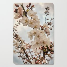 Vintage Cherry Blossoms Cutting Board