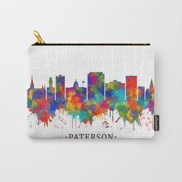 Paterson New Jersey Skyline Carry-All Pouch
