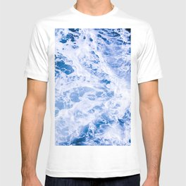 Beautiful Blue Waves T-shirt