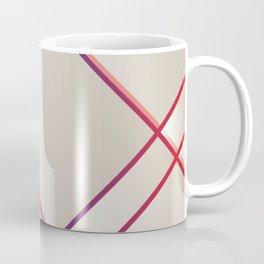 Rainbow Grids Coffee Mug