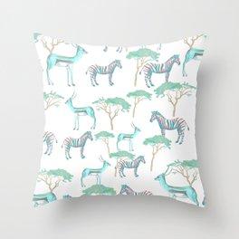 Savannah vibes Throw Pillow