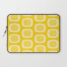 Atomic Sunburst Yellow Laptop Sleeve