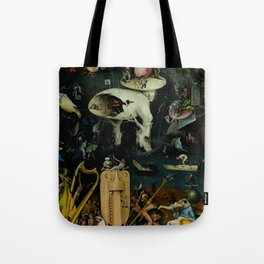 """Hieronymus Bosch """"The Garden of Earthly Delights"""" - Hell Tote Bag"""