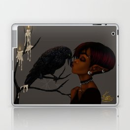 Kissing Crow Laptop & iPad Skin