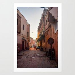 Rising Crescent (Marrakech) Art Print