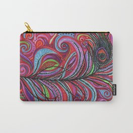 A Bright Feather Carry-All Pouch