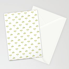 Tiny flowers pattern - watercolor Stationery Cards