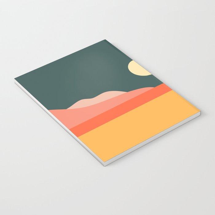 Geometric Landscape 14 Notebook