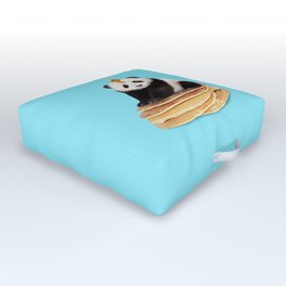 PANCAKE PANDA Outdoor Floor Cushion