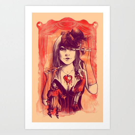 TAKE CONTROL Art Print