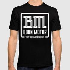BM Logo Mens Fitted Tee Black MEDIUM