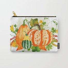 Pumpkin Bouquet Carry-All Pouch