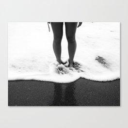 Under Your Breath Canvas Print