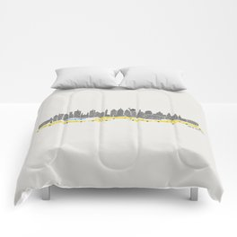 New York City Panoramic Comforters