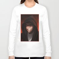 backpack Long Sleeve T-shirts featuring slim shady by Dedos