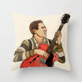 Chet Atkins Throw Pillow