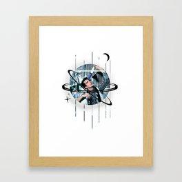 brendon galactic urie Framed Art Print