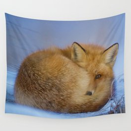 Little Fox Wall Tapestry