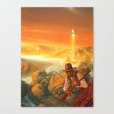 The Wild West Guide To The Galaxy # 180 Canvas Print