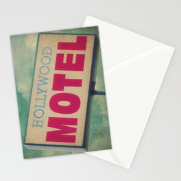 The Hollywood No-Tell Motel Stationery Cards