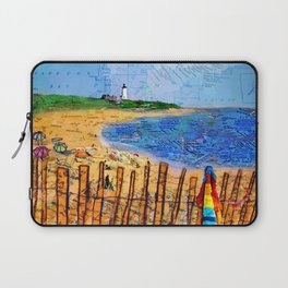 Summer down the Cape Laptop Sleeve