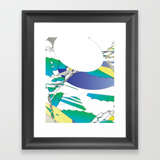Color #2 Framed Art Print