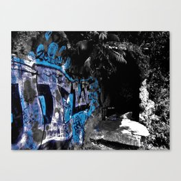Graffiti Time Stamp  Canvas Print