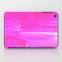hot pink iPad Cases featuring Hot PINK by HollyJonesEcu