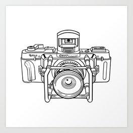 Fuji GX Camera Art Print