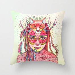 spectrum (alter ego 2.0) Throw Pillow